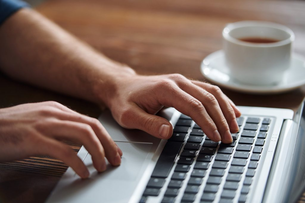 Typing by workplace